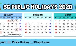Hack Singapore Public Holidays In 2020Using 11 Days Of