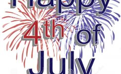 Happy 4Th Of July Fireworks Royalty Free Stock Photography