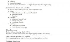 High School Resume – Resumes Perfect For High School Students