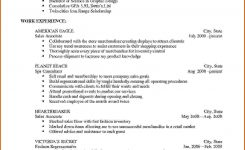 How To Make A Simple Job Resume Resume Templates Hsuehs How