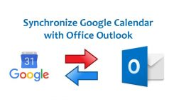 How To Synchronize Google Calendar With Outlook 365 2016, 2013, 2010 And  2007
