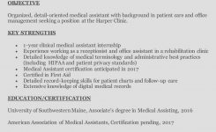 How To Write A Medical Assistant Resume (With Examples)