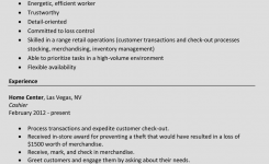 How To Write A Perfect Cashier Resume (Examples Included)