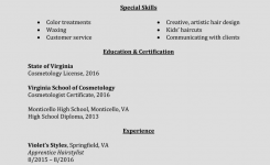 How To Write A Perfect Cosmetology Resume (Examples Included)
