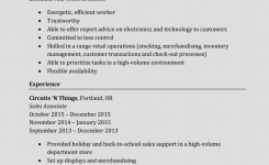 How To Write A Perfect Sales Associate Resume (Examples