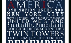 In Remembrance Of September 11 Victims And Families. | Sept