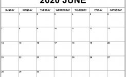 June 2020 Calendar | Free Printable Monthly Calendars