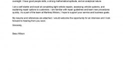 Leading Professional Lube Technician Cover Letter Examples