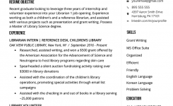 Librarian Resume Sample & Writing Guide | Rg