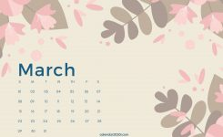 March 2020 Calendar Wallpapers – Top Free March 2020