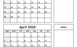 March-April-2020-Printable-Calendar – All 12 Month Calendar
