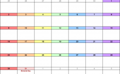 May 2021 Calendars For Word, Excel & Pdf