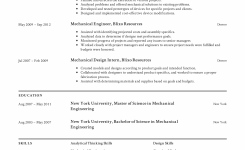 Mechanical Engineer Resume Templates 2019 (Free Download
