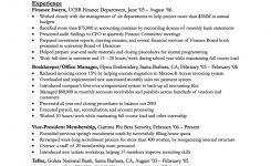 Newest Sample Resume For Office Manager Bookkeeper Sample