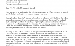 Office Assistant Cover Letter Example & Tips   Resume Genius