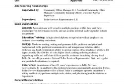 Bank Teller Resume With No Experience
