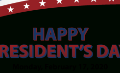 Presidents' Day, 2/17/20 – Epud Is Open – Emerald People's