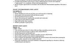 Reservation Agent Resume Samples | Velvet Jobs