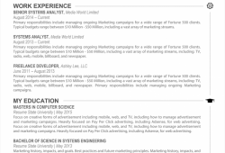 Free Creative Resume Newspaper Style