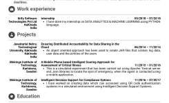 Resume Examplesreal People: Junior Software Engineer