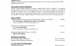 Resume Objective For Accounting Job – Lamasa.jasonkellyphoto.co
