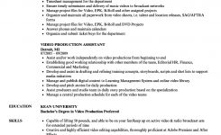 Resume ~ Production Assistant Resume Template Picture Ideas