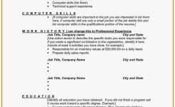 Resume Sample: Pretty Gallery Of Computer Skills Resume