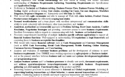 Retail Banking Business Analyst Resume | Templates At