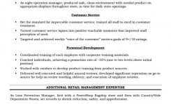 Retail, Operations And Sales Manager Resume