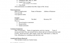 Scholarship Resume Templates | Sample Scholarship Resume