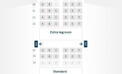 Seat Maps | Norwegian