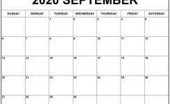 September 2020 Calendar | Free Printable Monthly Calendars