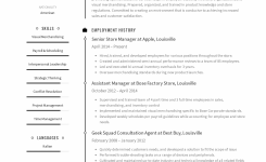 Store Manager Resume Templates 2019 (Free Download) · Resume.io