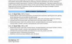 Teller Resume With No Experience | Sample Resume-Bank Teller