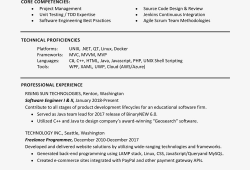Sample Skills And Abilities For Resume