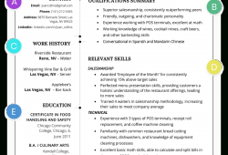 Functional Resume Template Word 2015
