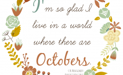 The Life Of Jennifer Dawn: Free Fall Printable With Anne Of