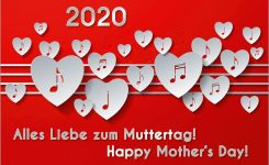 """The Music Calendar """"happy Mother's Day!"""" 2020 – 2, Din A4"""