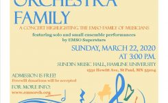 The Orchestra Family | Minnesota Monthly Calendar