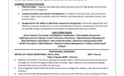 Trendy Police Officer Resume Example 11 Police Officer
