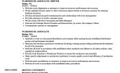 Warehouse Associate Resume Samples | Velvet Jobs