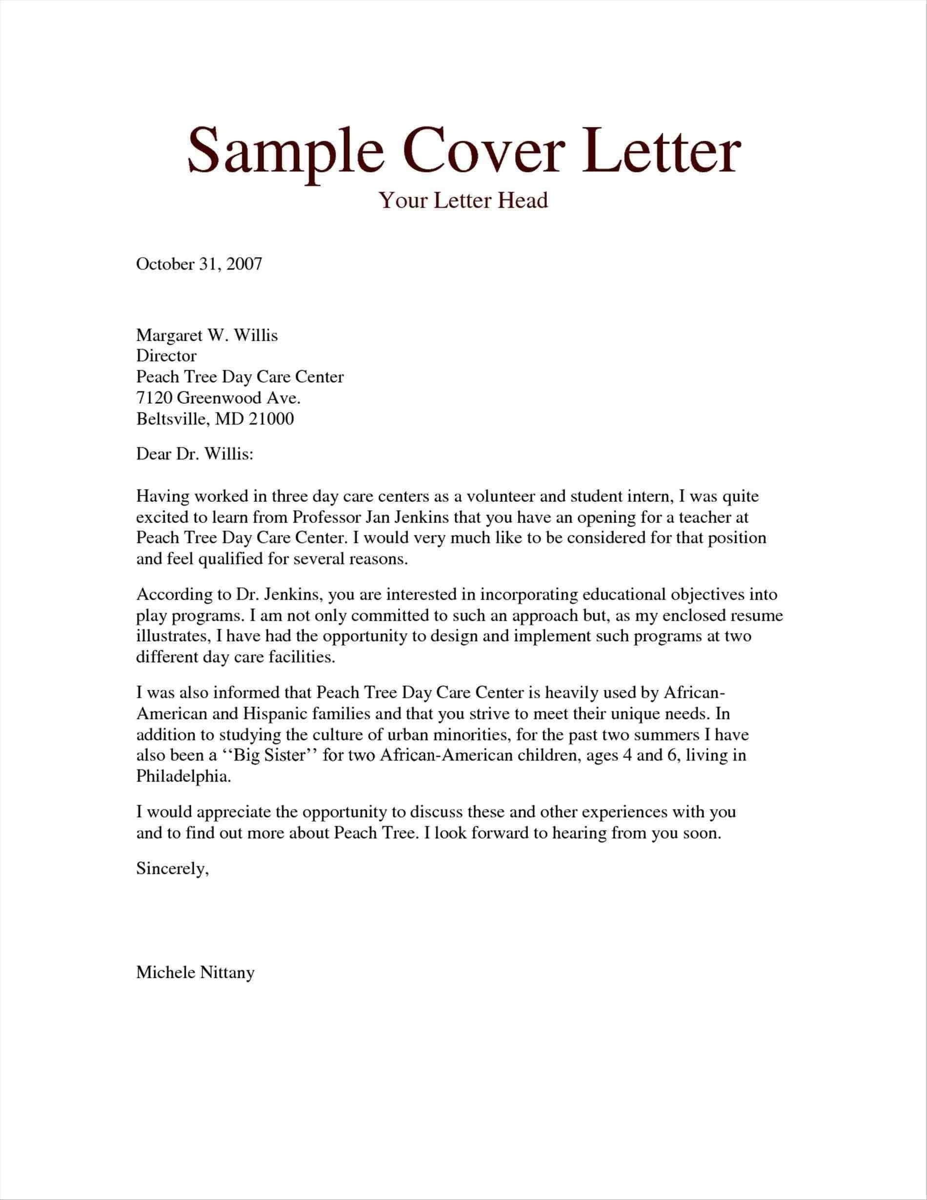 Microsoft Word Resume Cover Letter Template Download