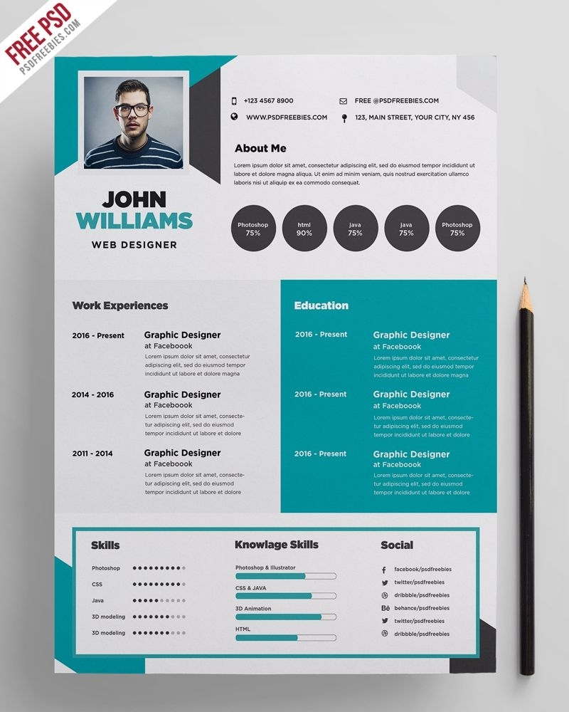 Creative Resume Template Designs