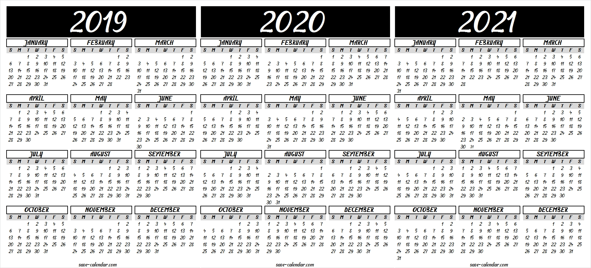 Free 2021 Calendar Pdf With Good Background