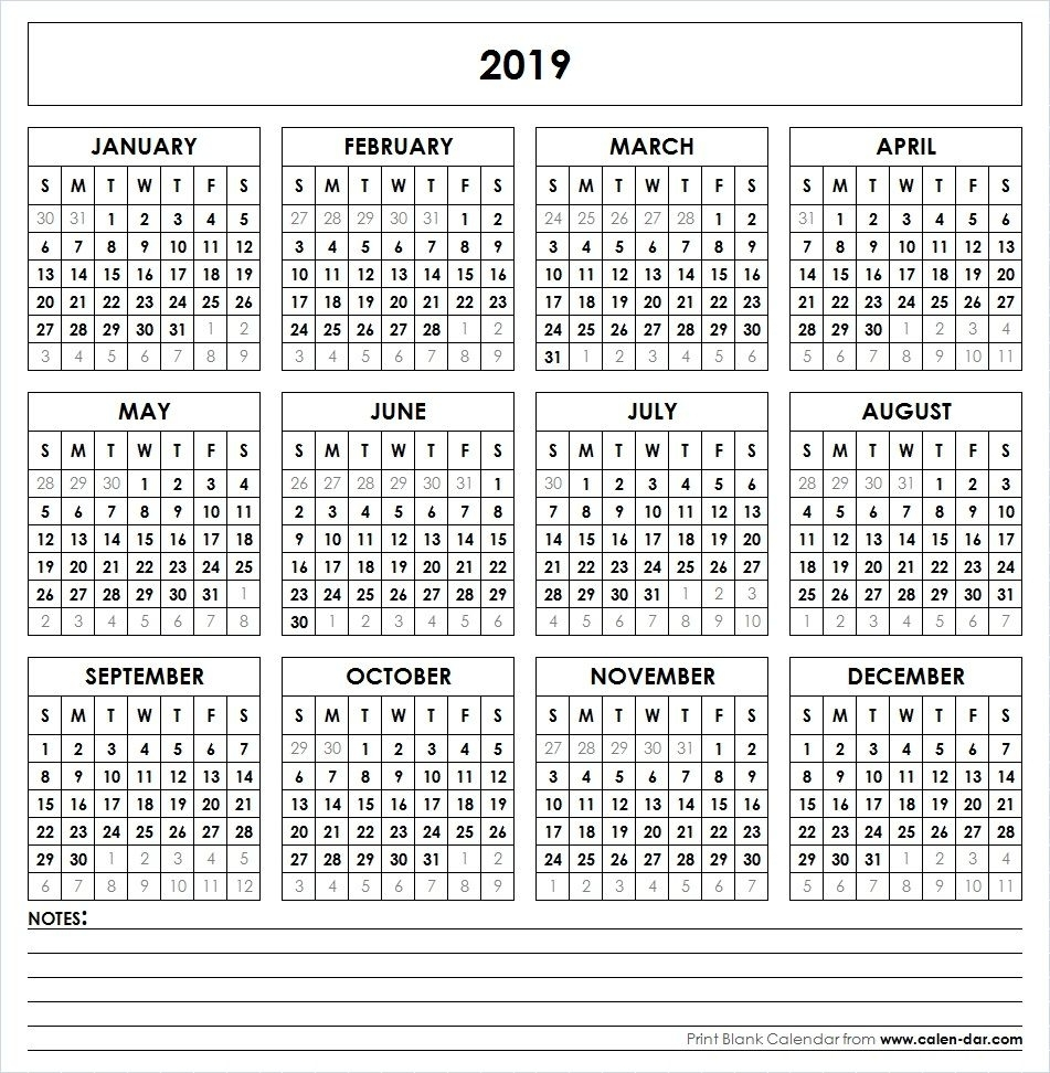 Free Monthly Printable Calendar 2021 All Months