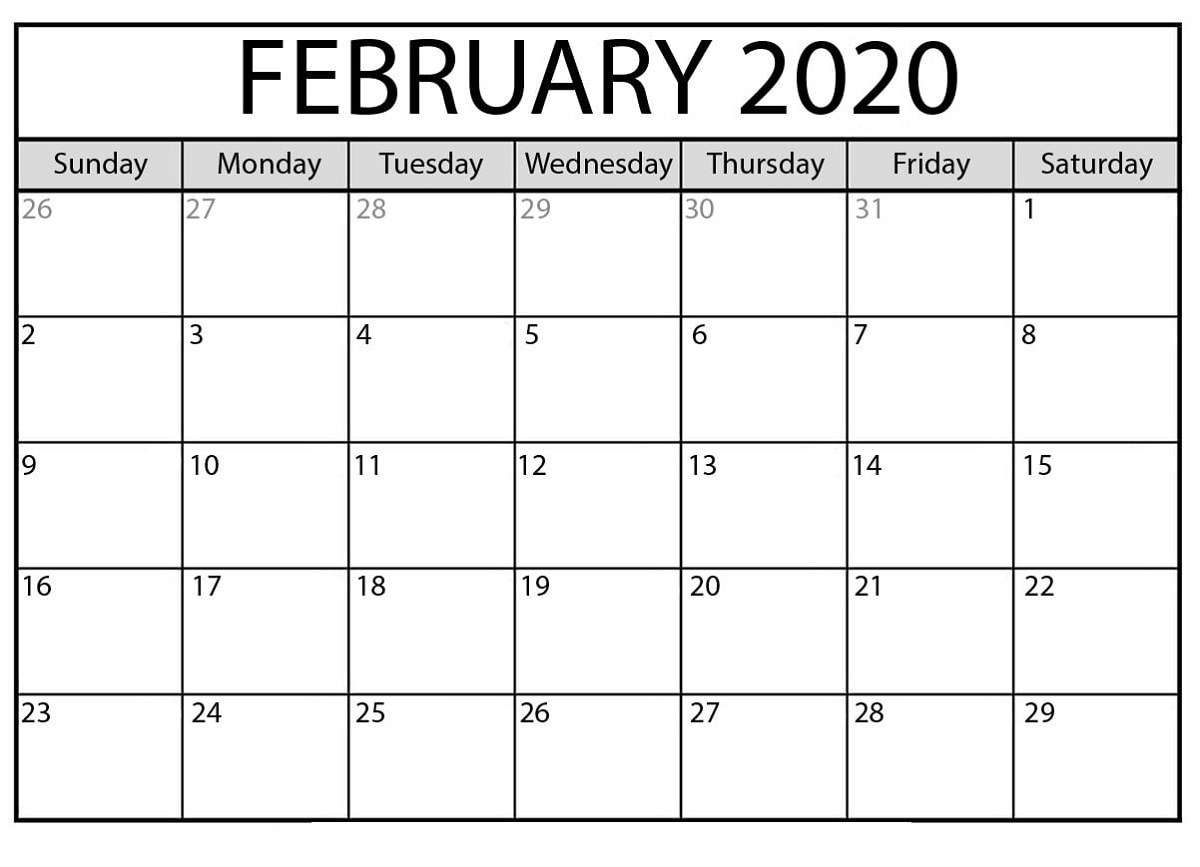 Free Printable Calendar Templates 2020 For Kids In Home