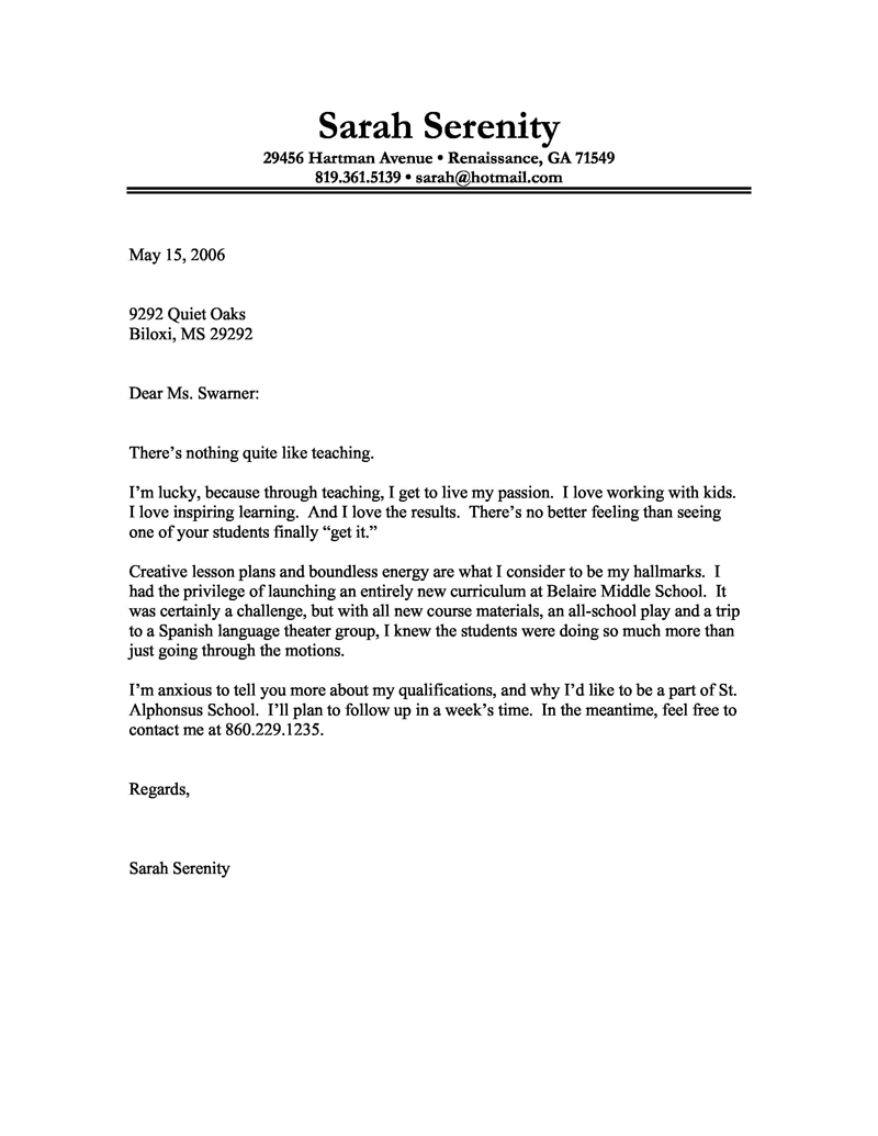 Resume Cover Letter Template Mac Free