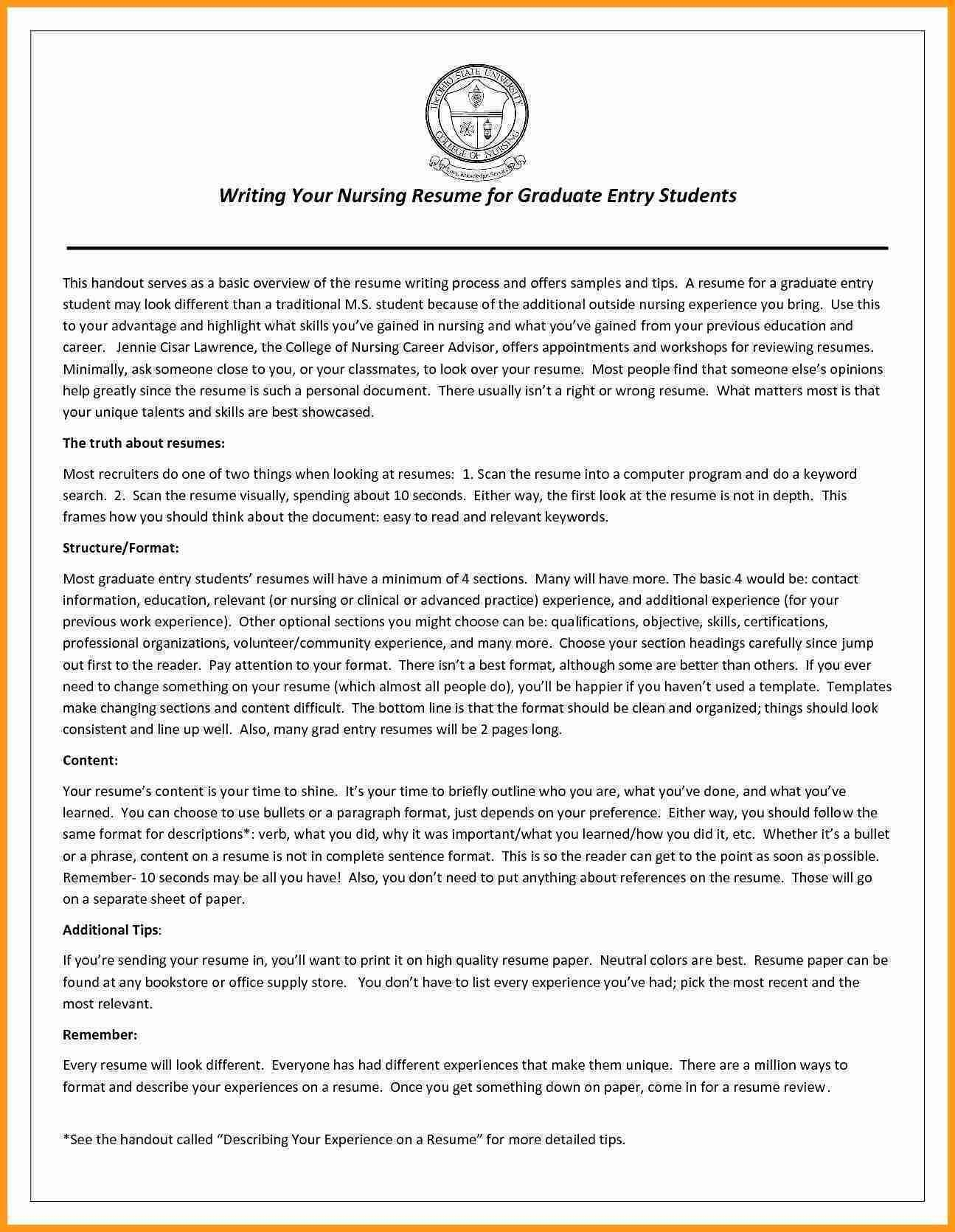 Scannable Resume Template – Carinsurancequotes66