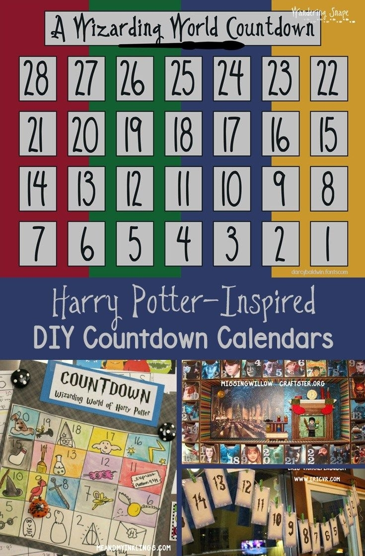 Countdown Calendar Harry Potter