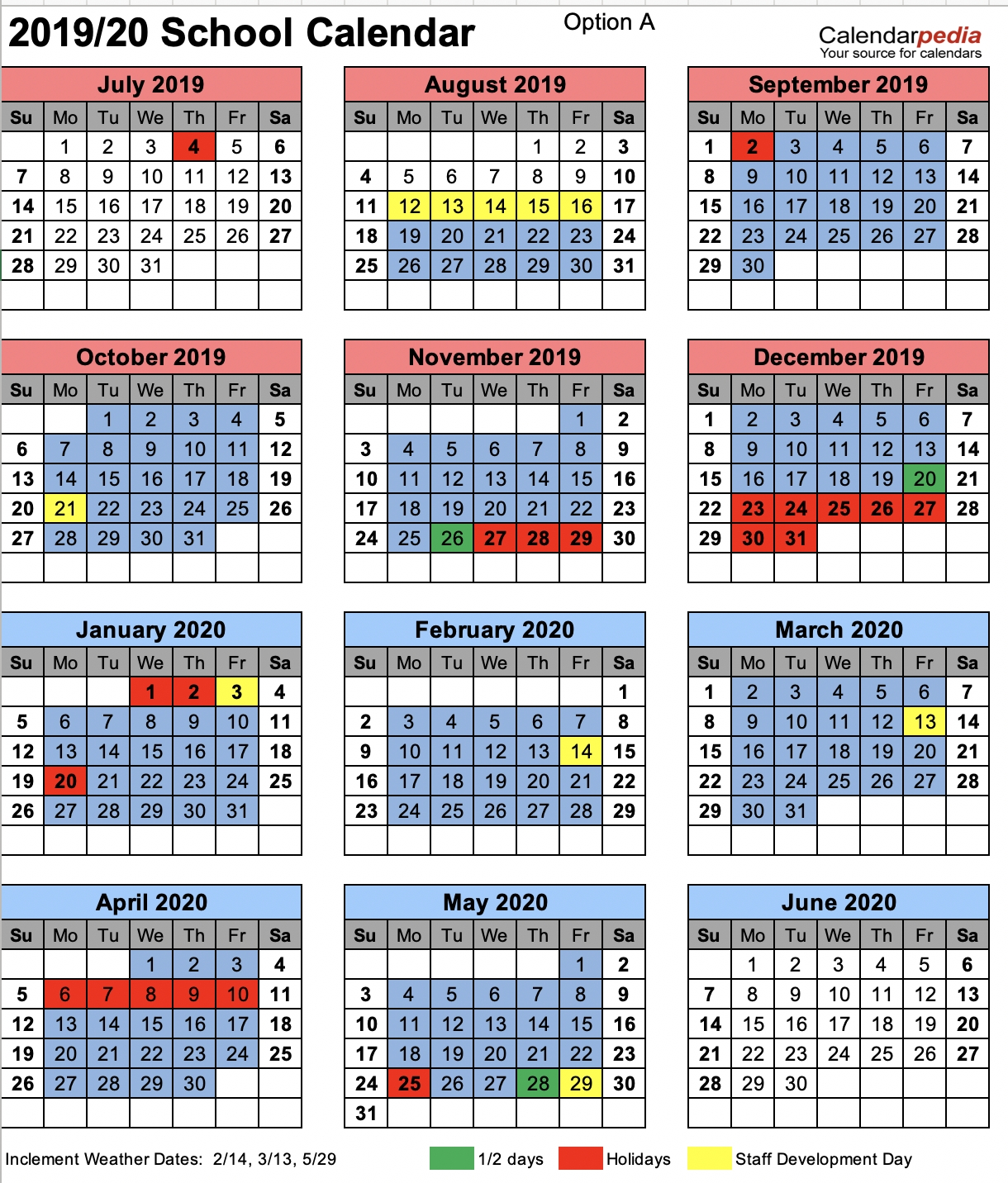 School Calendar Chesterfield County